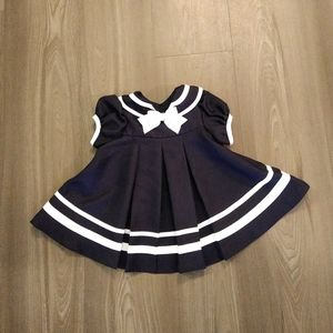 Rare Editions baby sailor dress size 3 to 6 month
